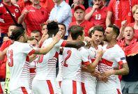 Switzerland goal vs Albania