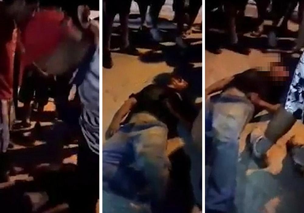 man beaten top death Mexico