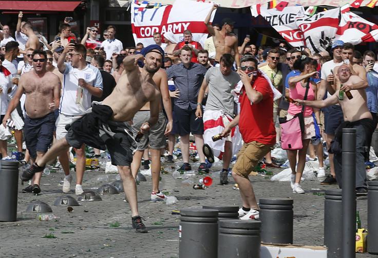 fans clash