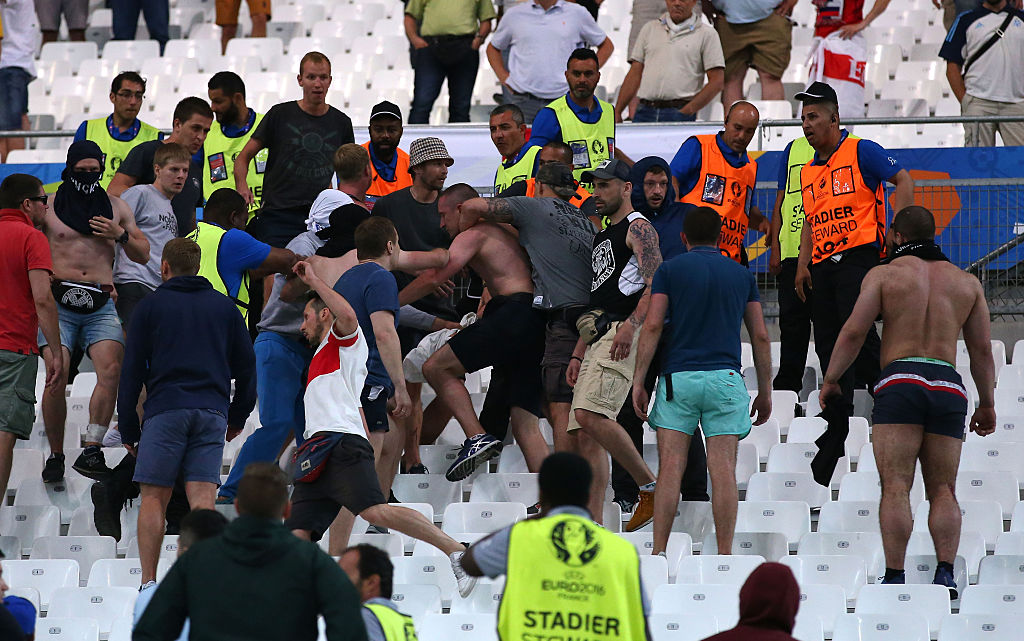 Stade de Velodrome clashes