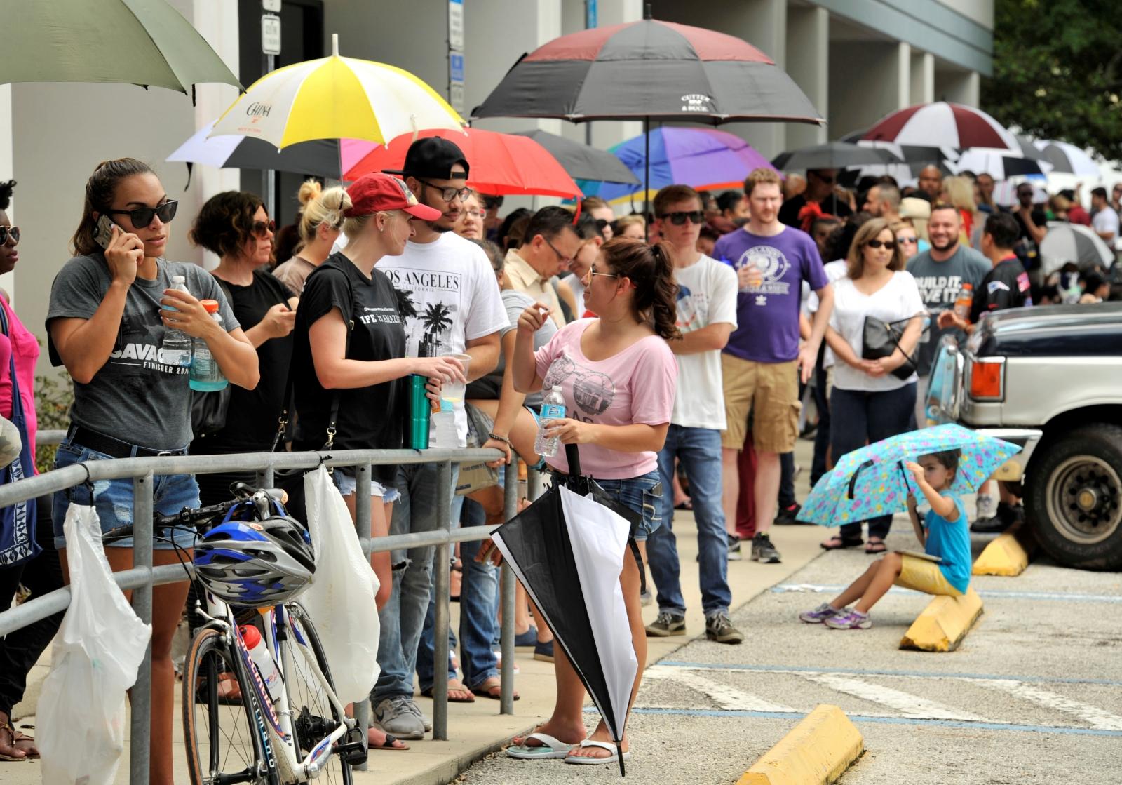Orlando massacre blood donations