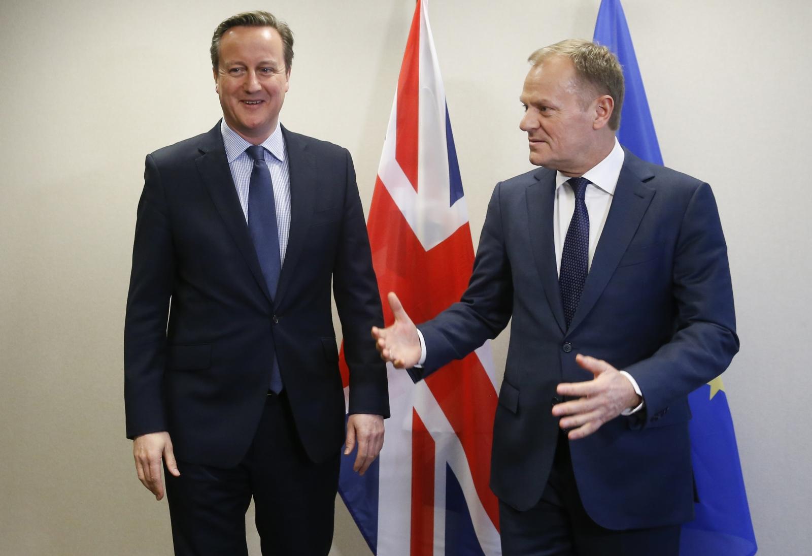 EU referendum Brexit Donald Tusk