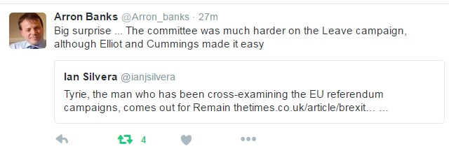 Arron Banks, Leave.EU co-founder