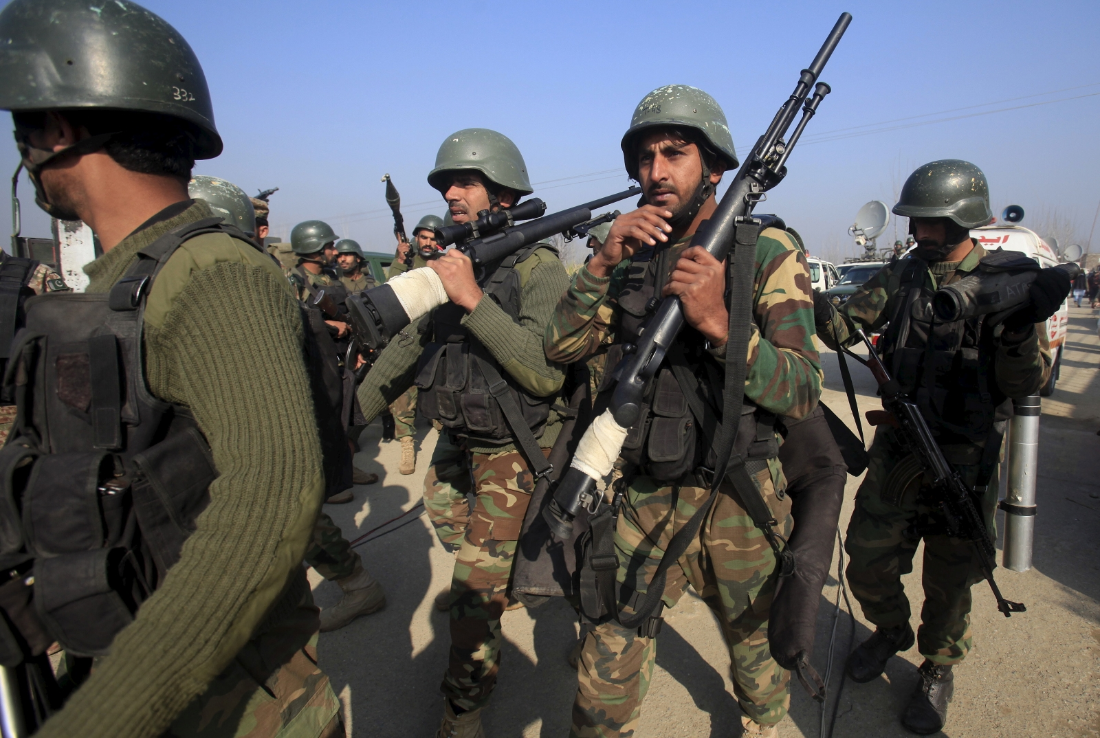 Clashes on Pakistan-Afghanistan border