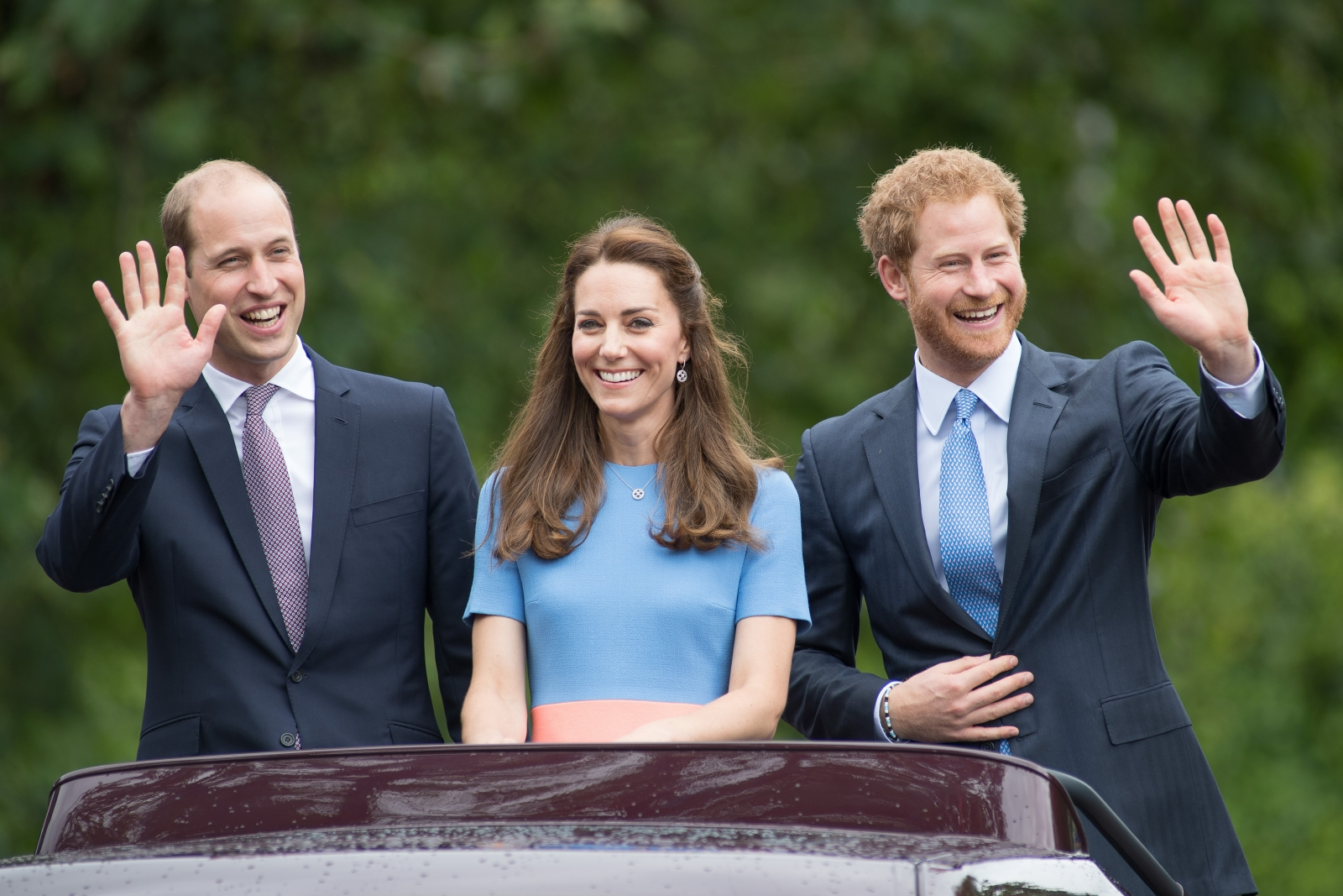 Kate Middleton Princes William And Harry Transform
