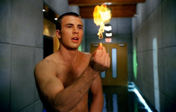 Chris Evans in Fantastic Four