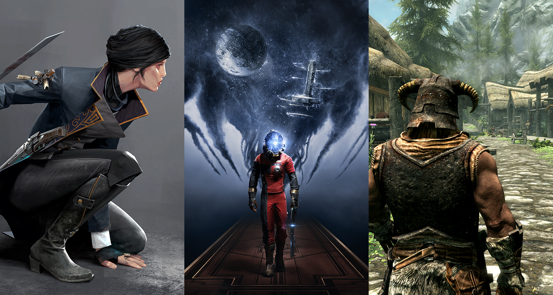 Bethesda E3 2016 Dishonored Prey Skyrim