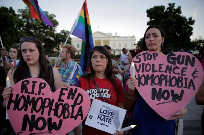 Orlando shooting gay vigils