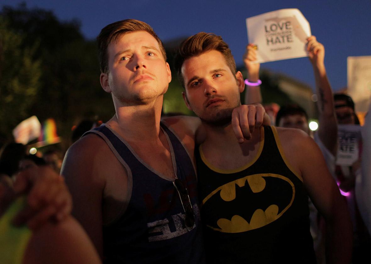 Orlando shooting gay vigils