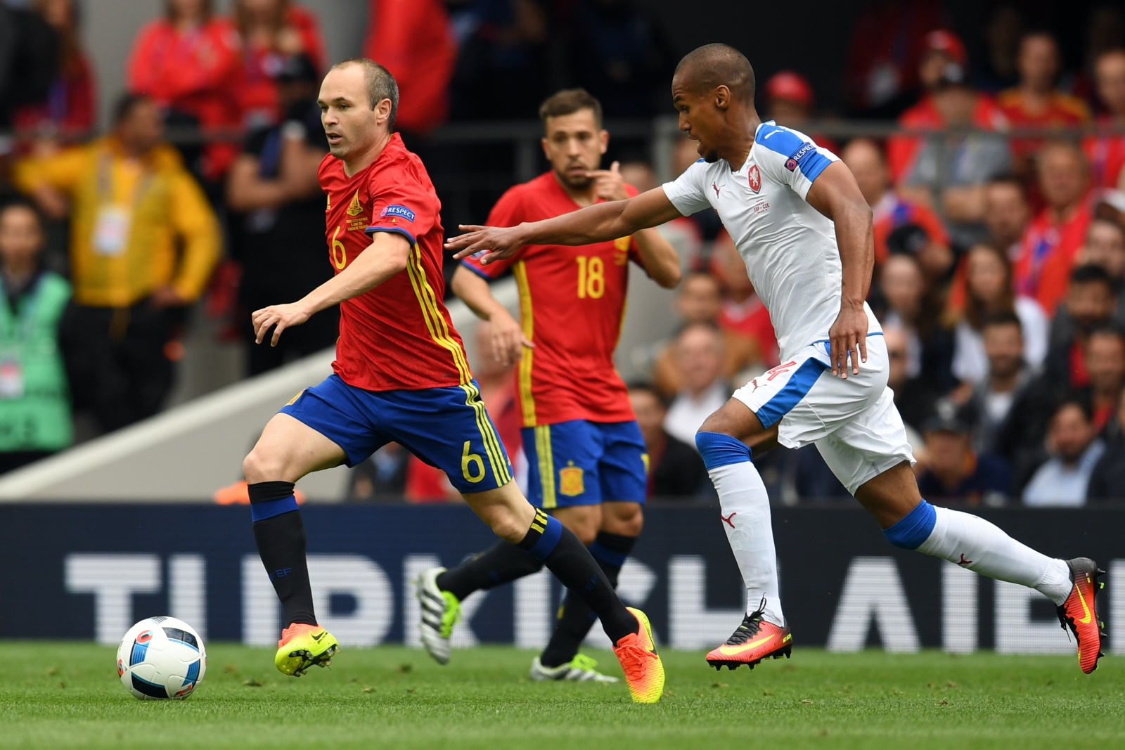 Iniesta was central to Spain's best moves