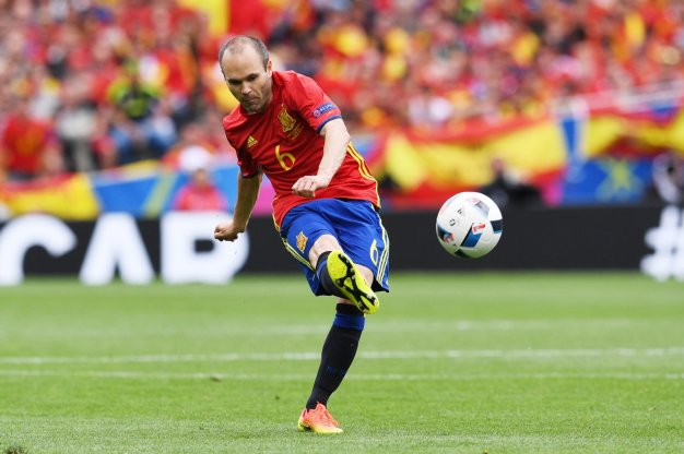 Andres Iniesta was excellent in Toulouse