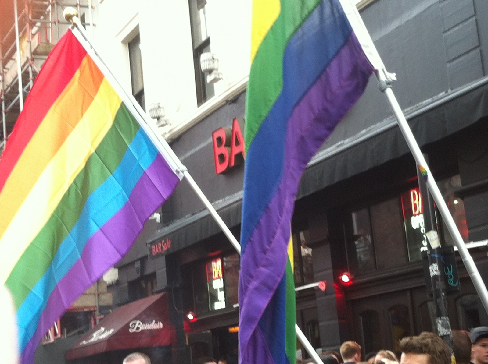Vigil at Old Compton Street for victims of Orlando shooting