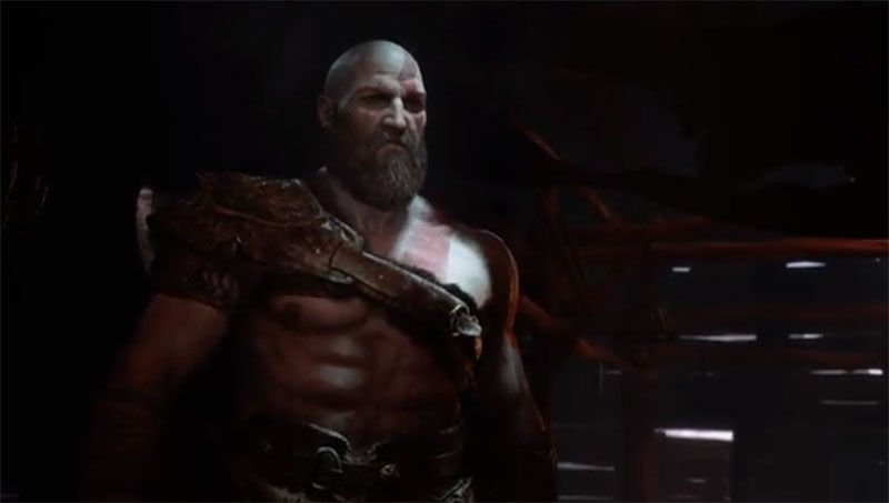 God of War Viking Kratos PS4