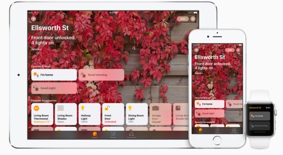 iOS 10 home app
