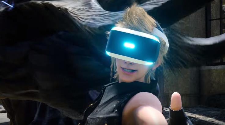 Final Fantasy 15 VR PSVR