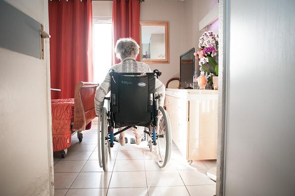 elderly resident nursing home