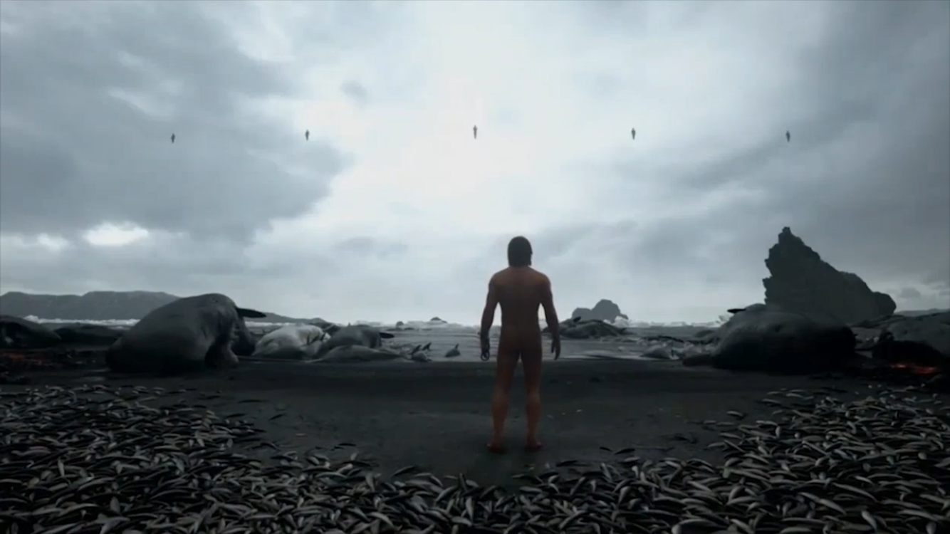 Death Stranding beach