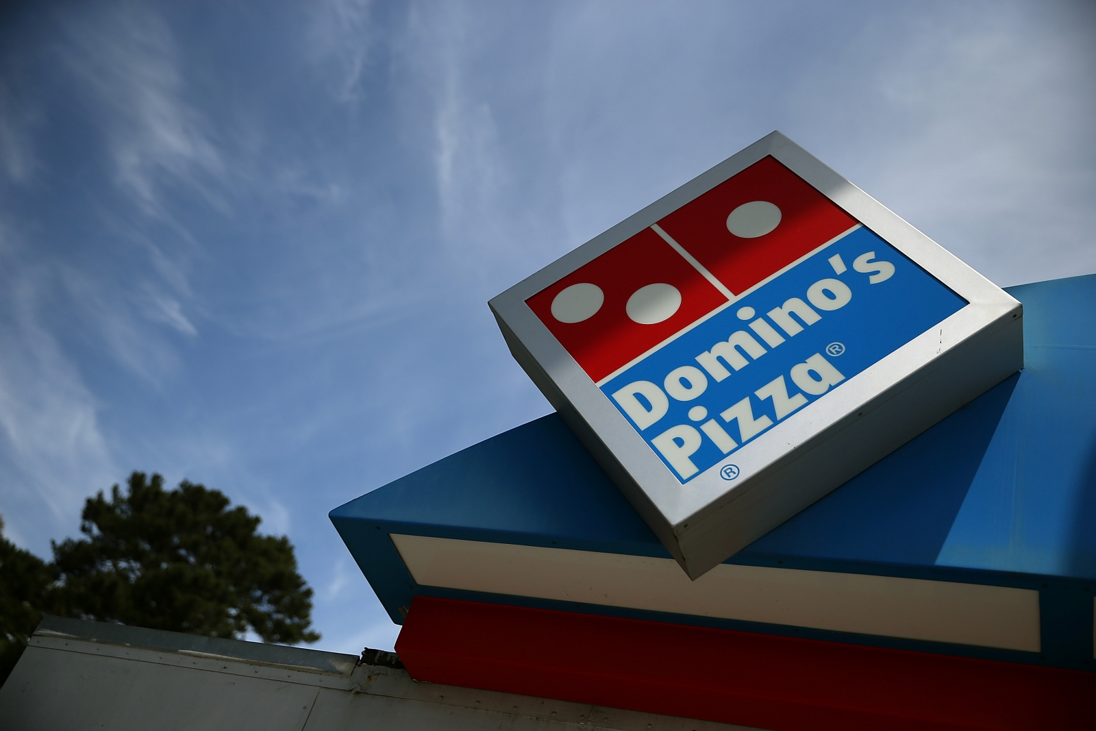 Domino's GPS tracking customers