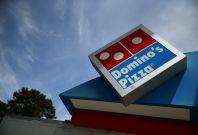 Domino\'s GPS tracking customers