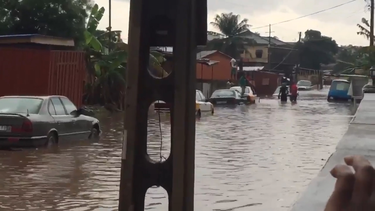 Ghana: Watch video of Accra floods that turned streets ...