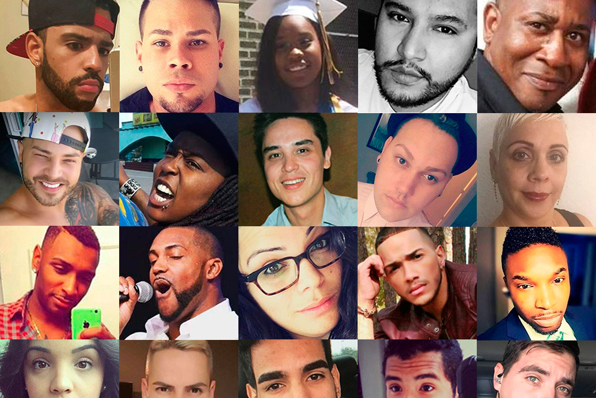 Orlando Shooting: We Will Remember Their Names