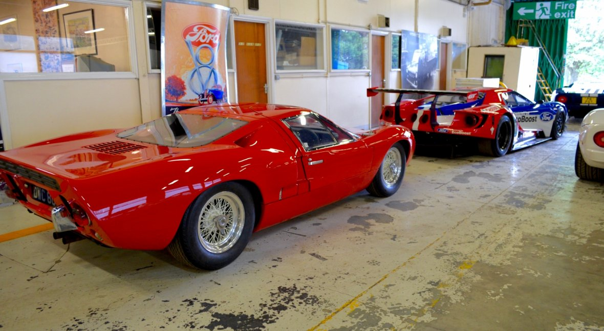 Ford GT40 and GT Race Car