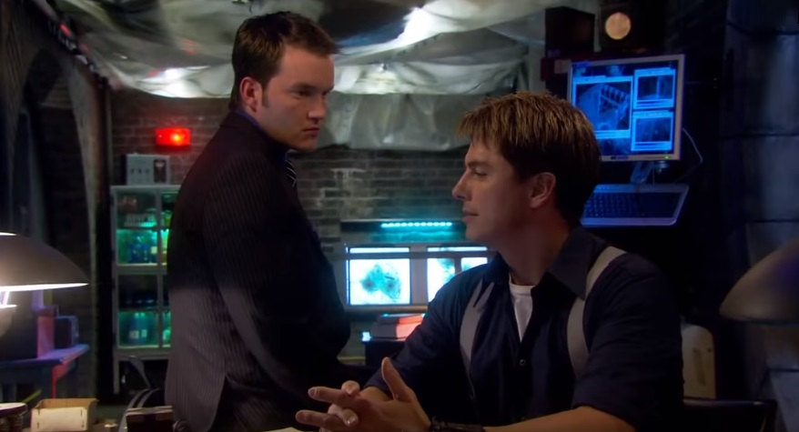Jack Harkness and Ianto Jones