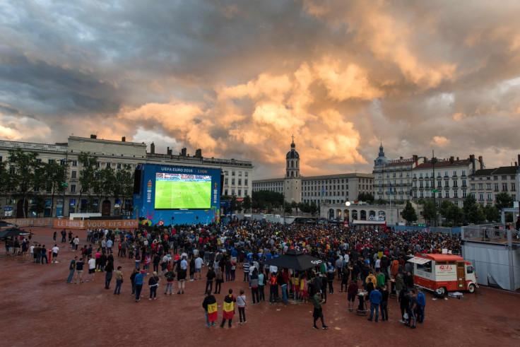 Euro 2016 fanzone