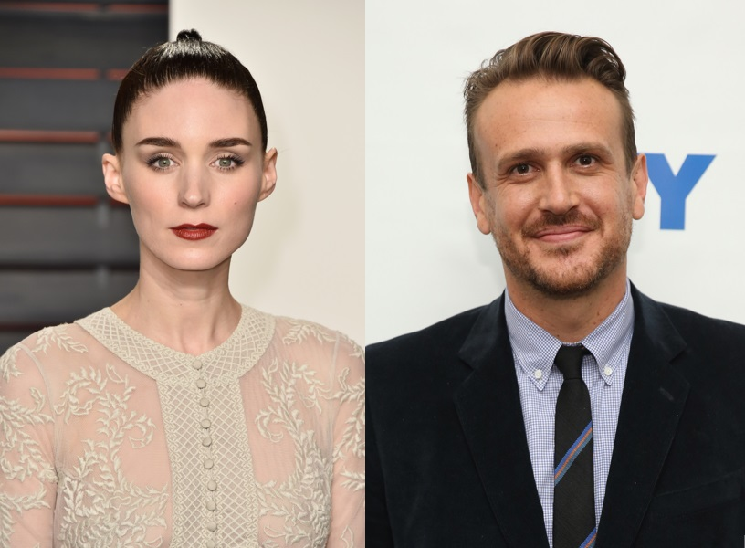 Rooney Mara and Jason Segel
