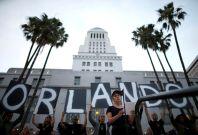 Lady Gaga Speaks at Vigil for Orlando Shooting Victims in LA
