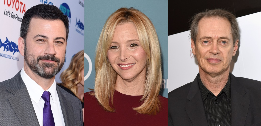 Jimmy Kimmel, Lisa Kudrow and Steve Buscemi