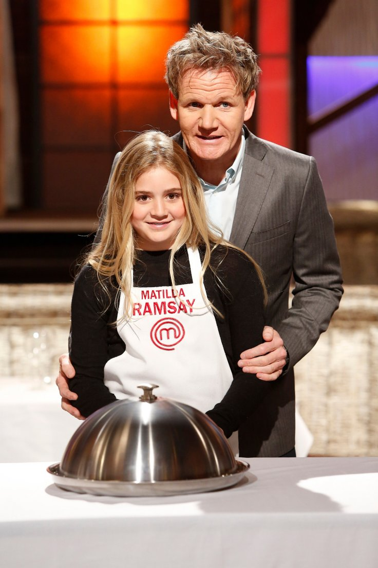 Gordon Ramsays with daughter Matilda Ramsay