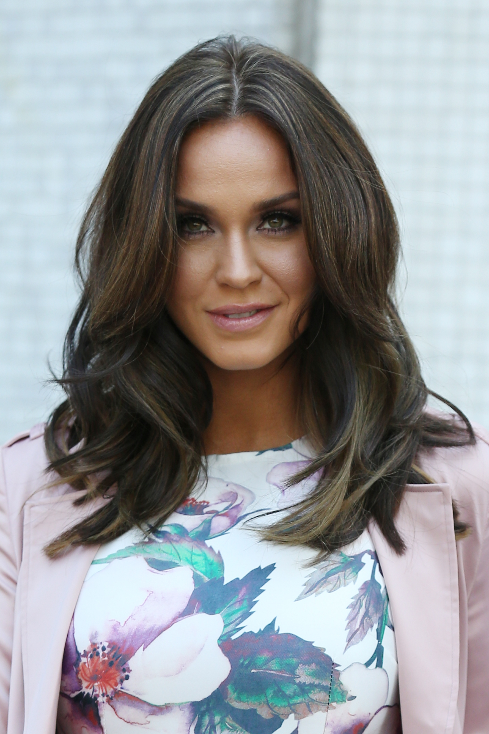 Vicky Pattinson pictured at the ITV studios