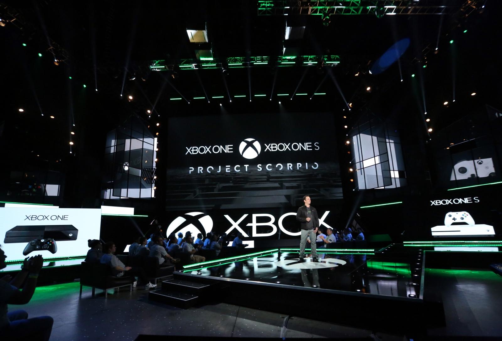 Xbox One S Scorpio E3 2016