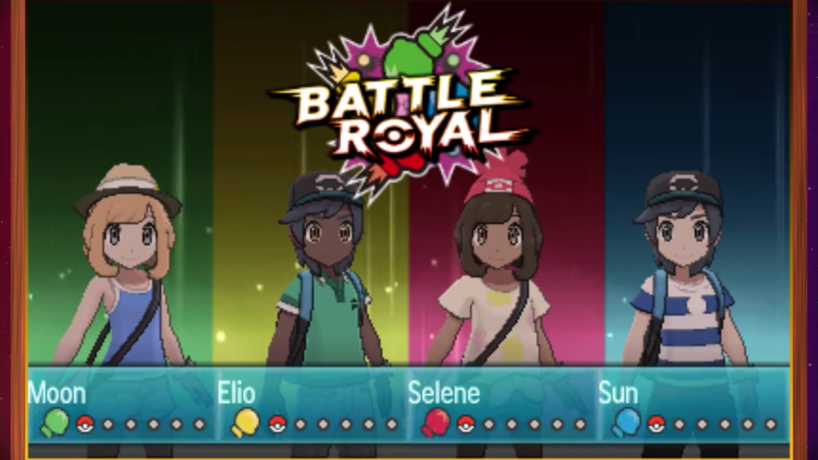 Pokemon Sun and Moon Battle Royale 1