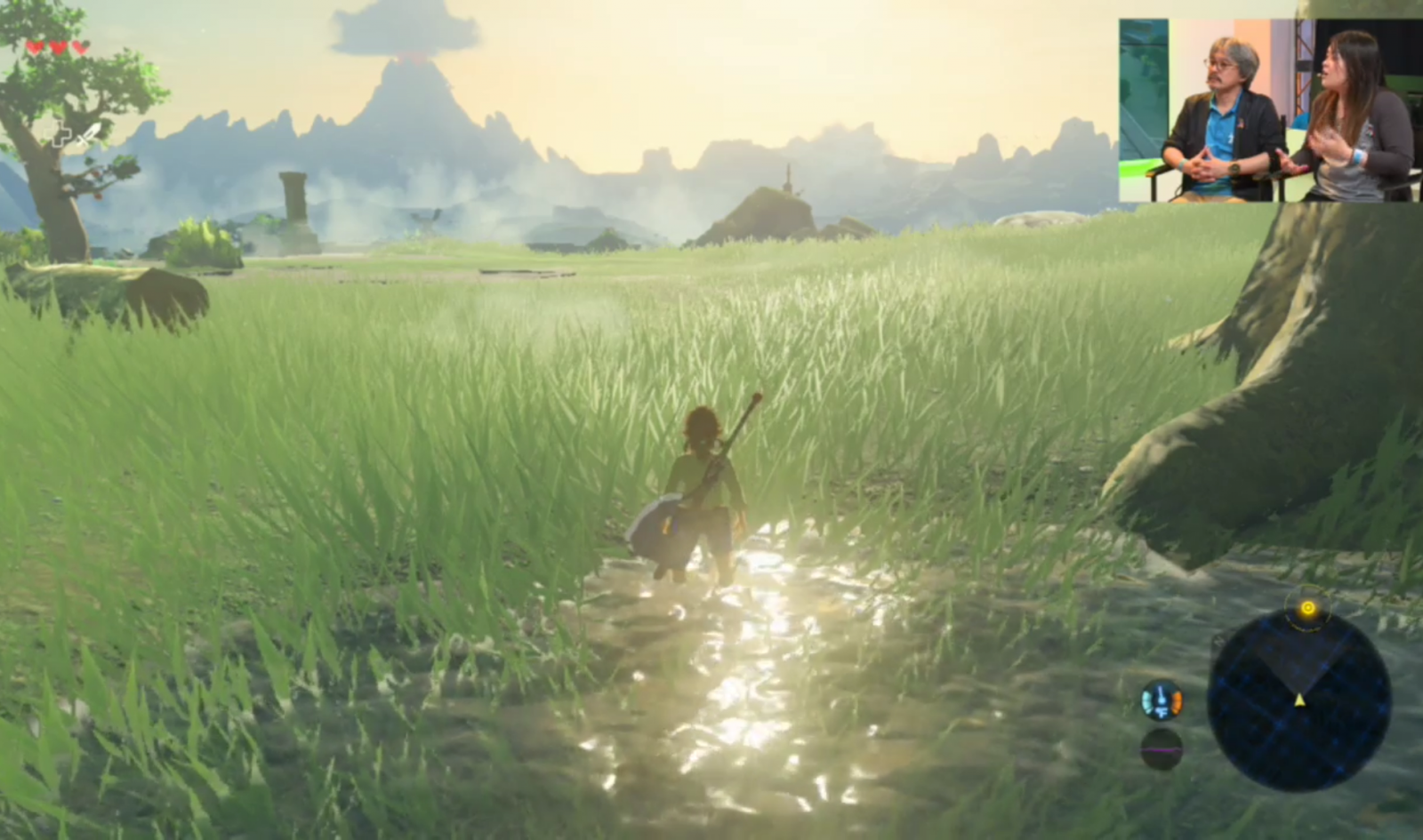 Legend of Zelda Breath Wild E3 2016