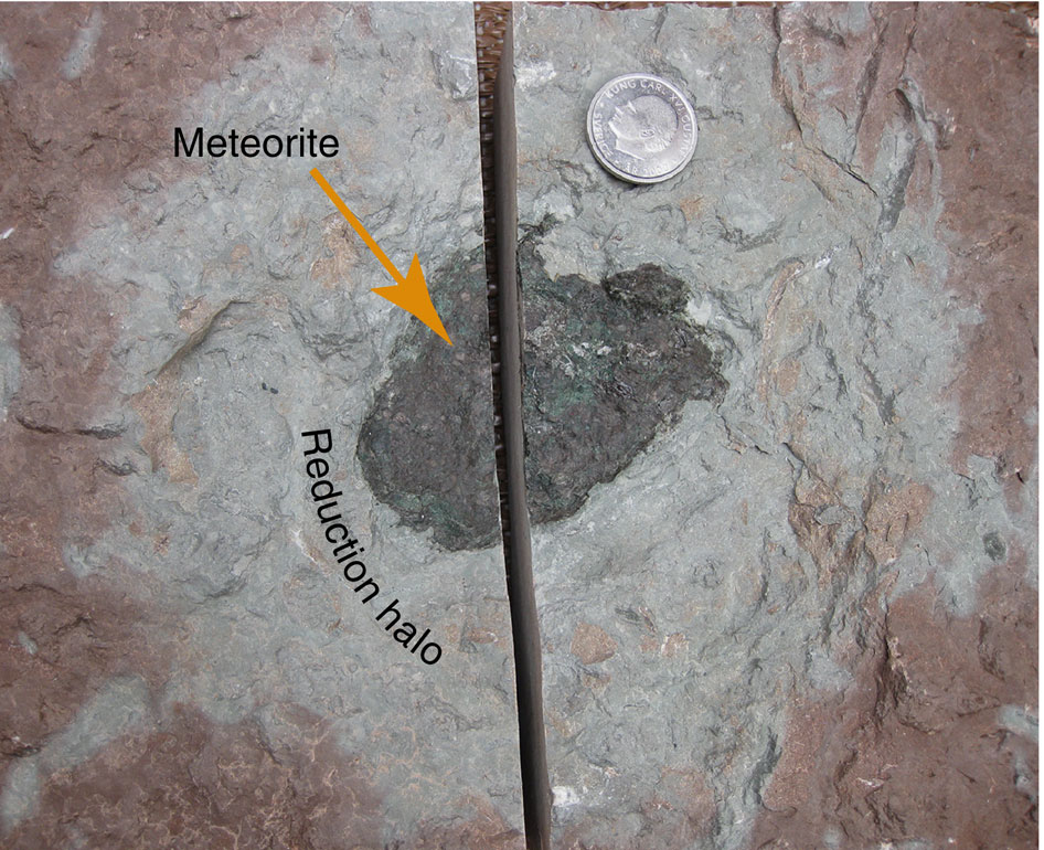 Ӧst 65 extinct meteorite