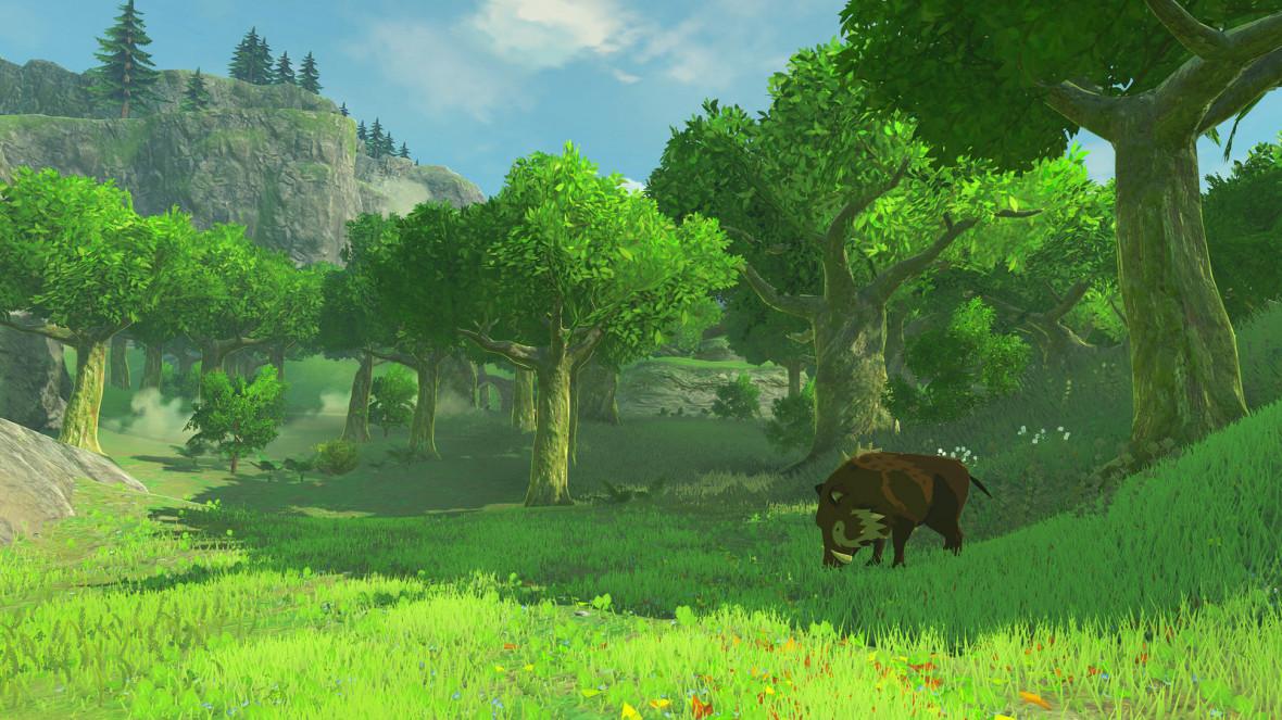 The Legend of Zelda Breath Wild screenshot