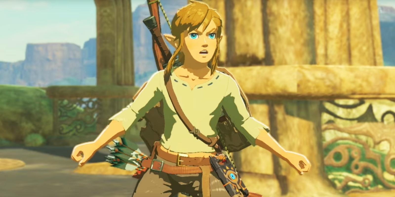 Legend of Zelda Breath Wild Link