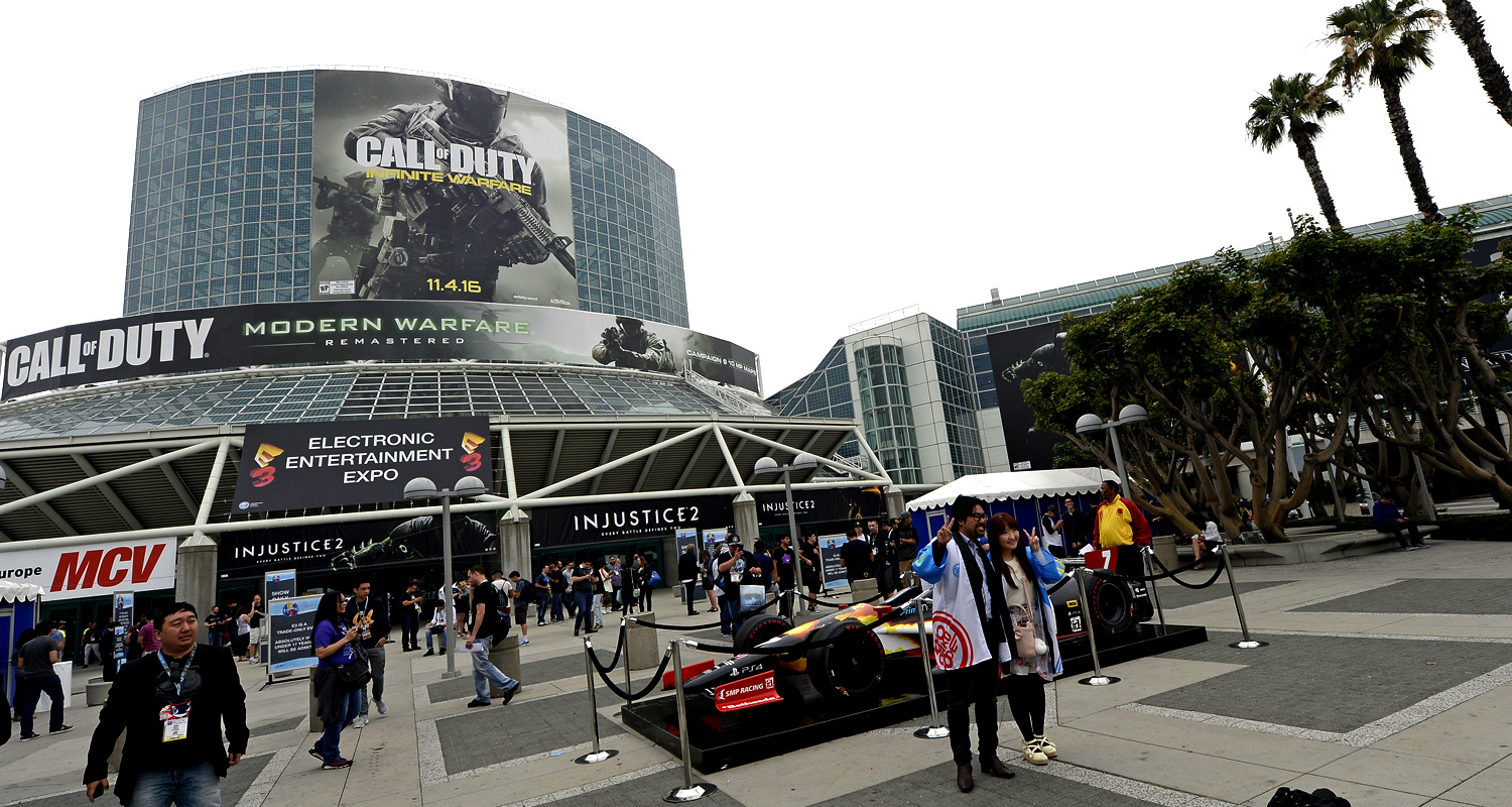 E3 2016 LA Convention Center