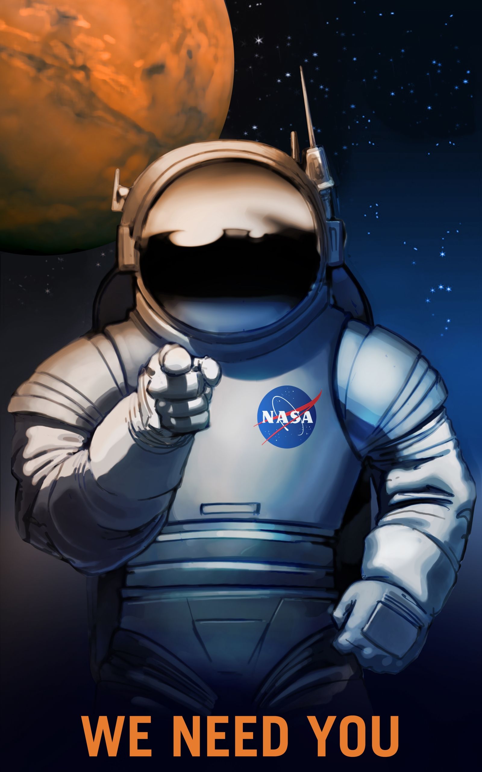 Nasa needs you