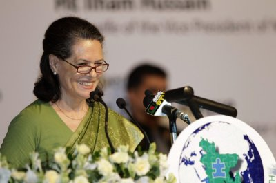 7.Sonia Gandhi President of the Indian National Congress Party