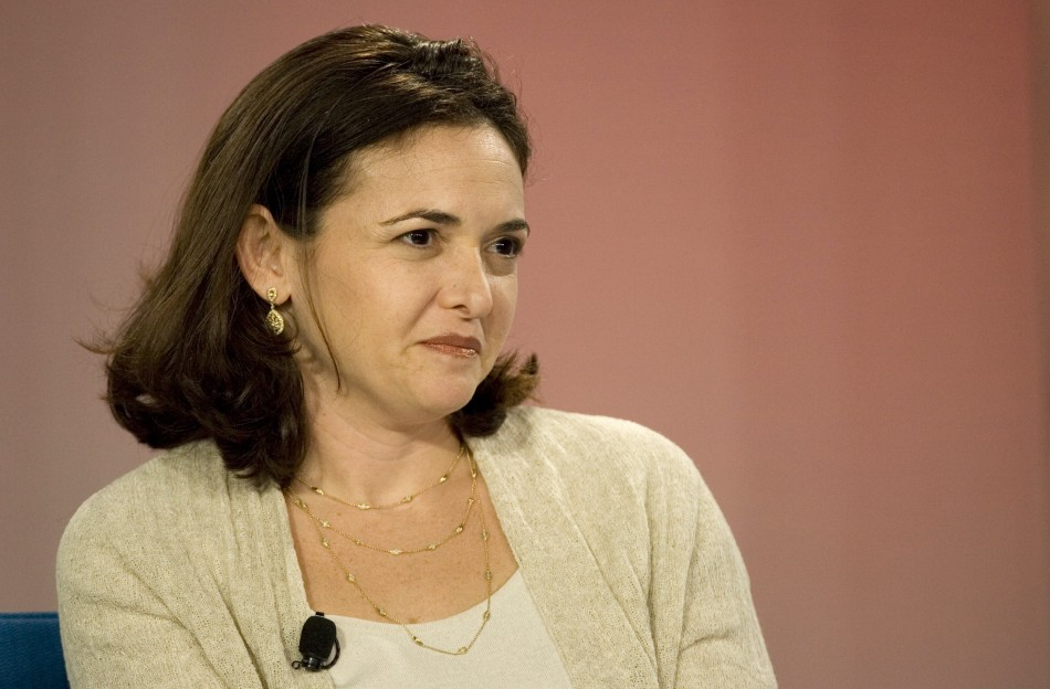 5.Sheryl Sandberg: Chief Operating Officer, Facebook.com