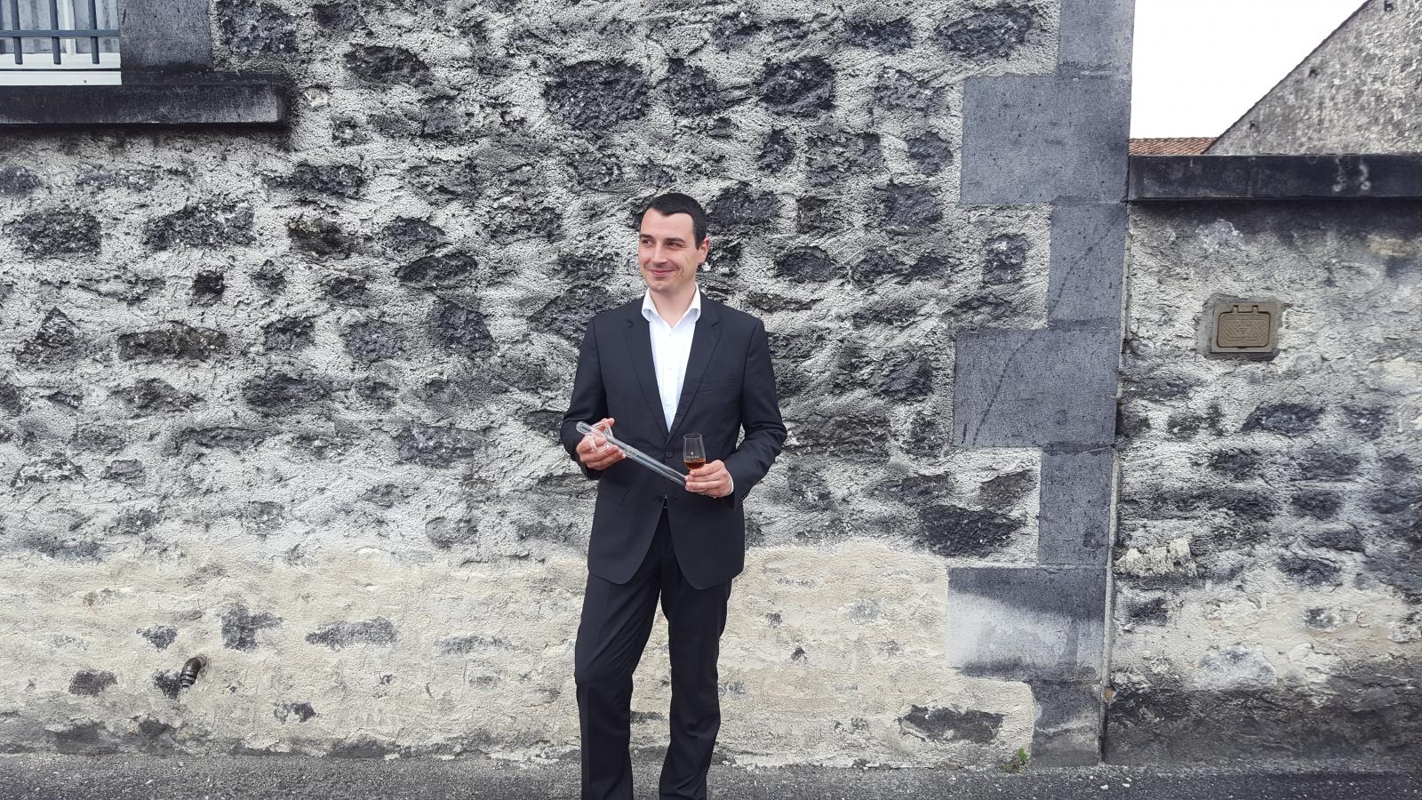 Rémy Martin cellar master, Baptiste Loiseau