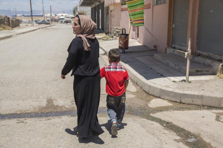 Kurdistan women refugees