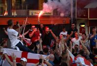 Euro 2016 England fans Lille