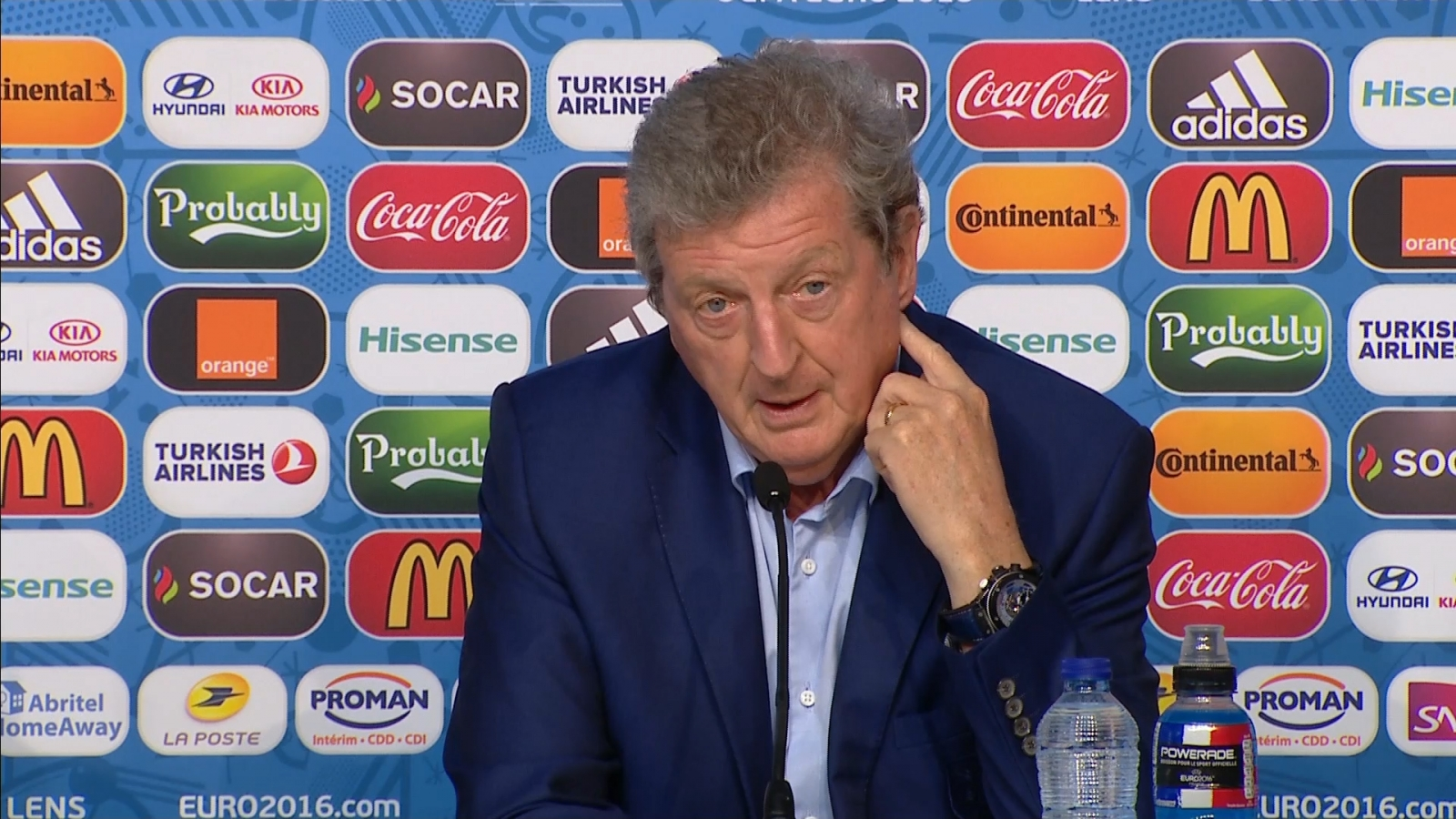 Hodgson responds to passion jibes