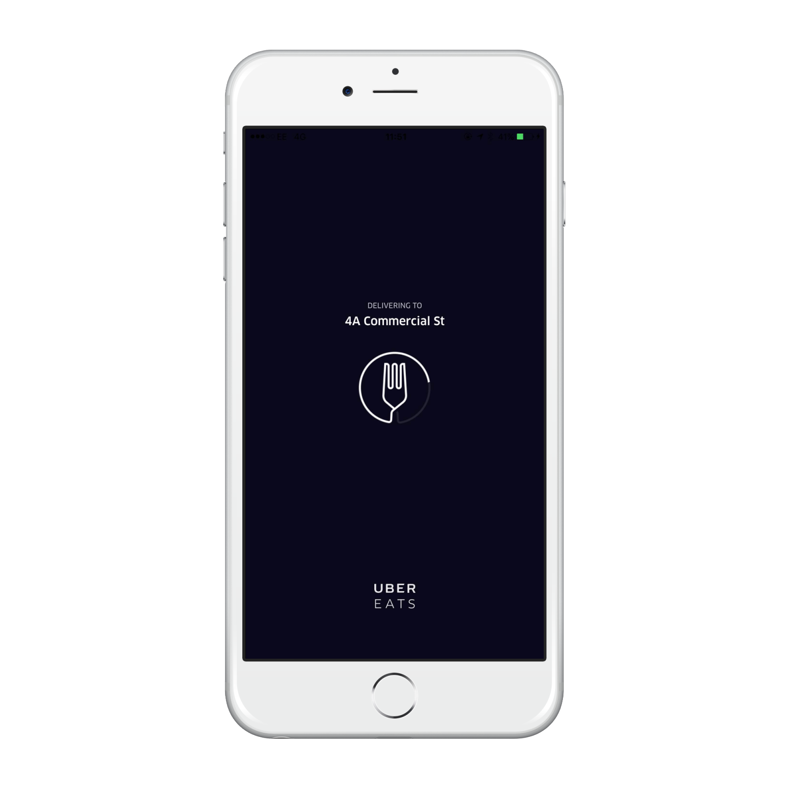 UberEATS screenshot