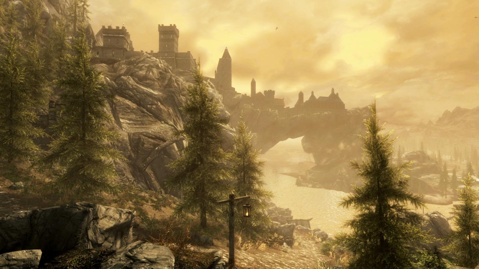 Skyrim Special Edition Remaster Solitude