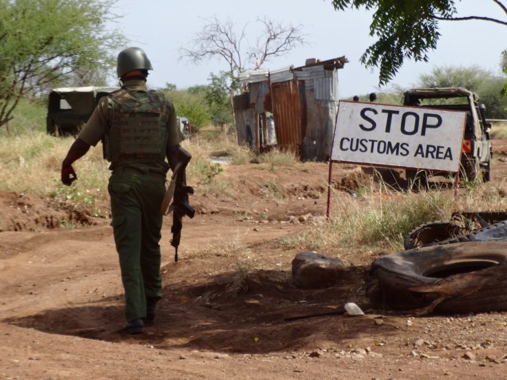 Nadapal Kenya and South Sudan border